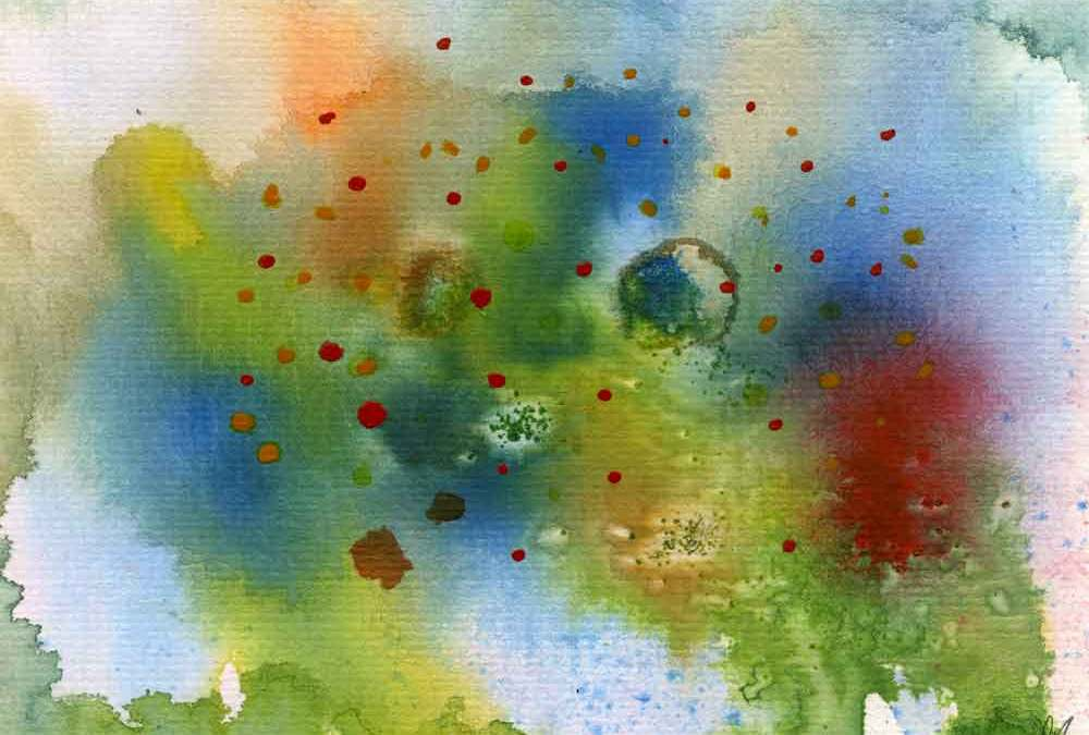 Landscape abstract – Daily painting #1183