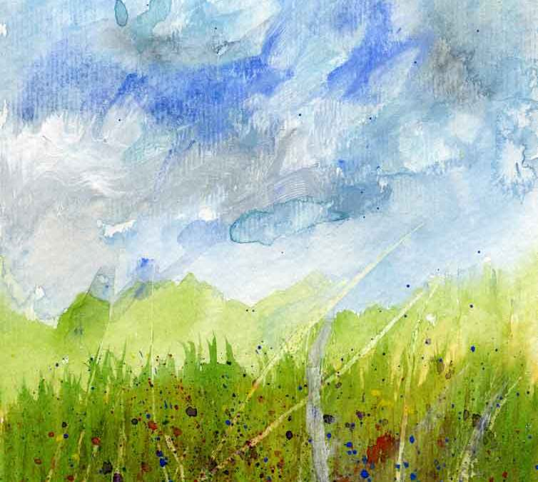 Grass and sky (#096)
