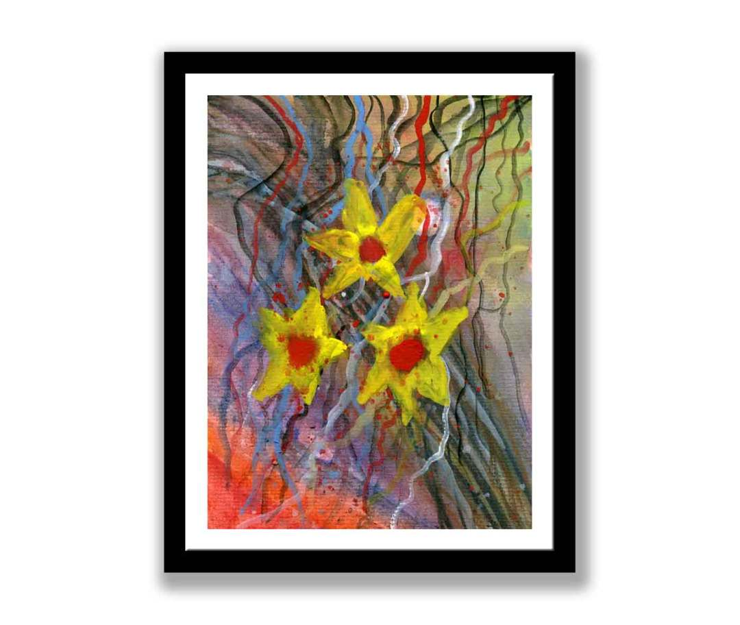 Daffodil on abstract (#168)