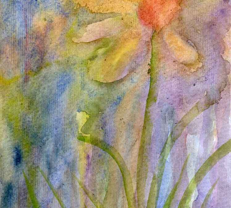 Abstract daffodil (#169)