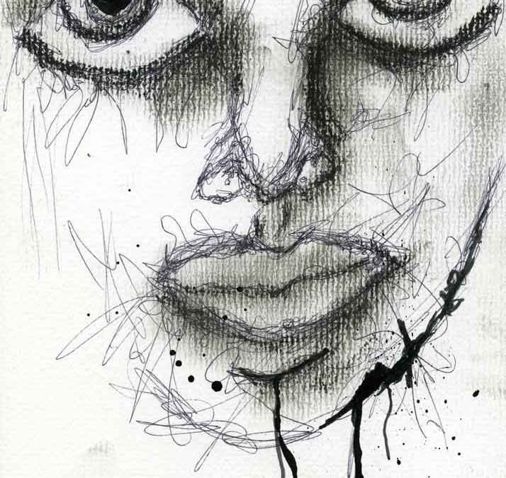 Woman's face (#7017)