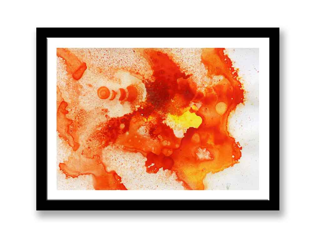 Orange and yellow abstract (#1349)