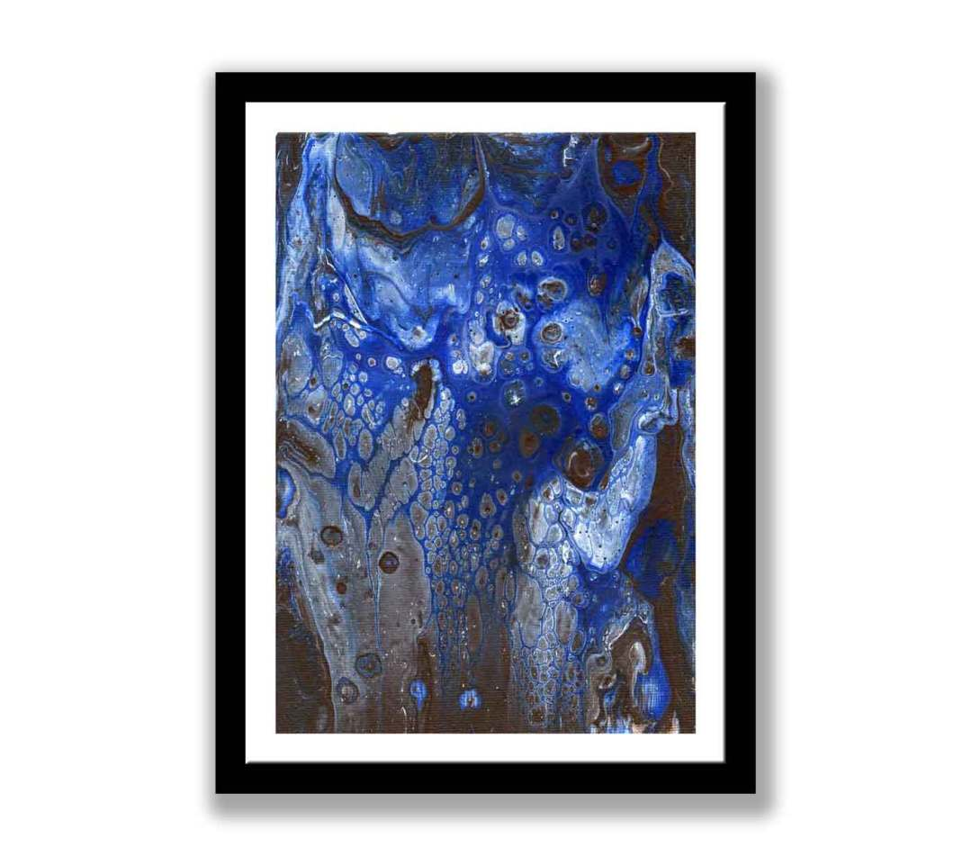 Blue abstract – Print for sale (#1380)