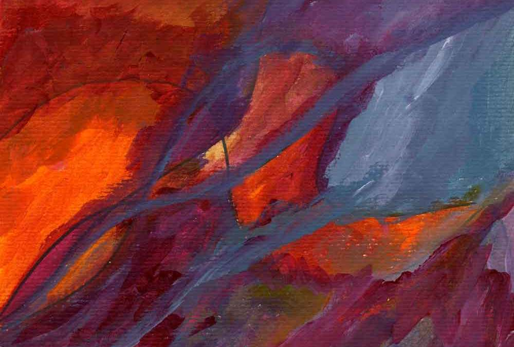 Red,orange,purple and blue abstract (#1441)