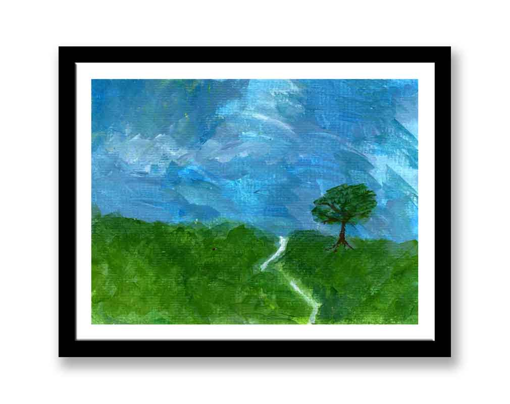 Green Tree in field (#1444)