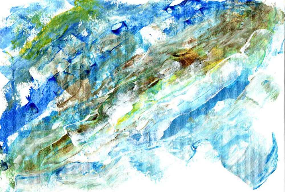 Green and blue abstract (#1462)