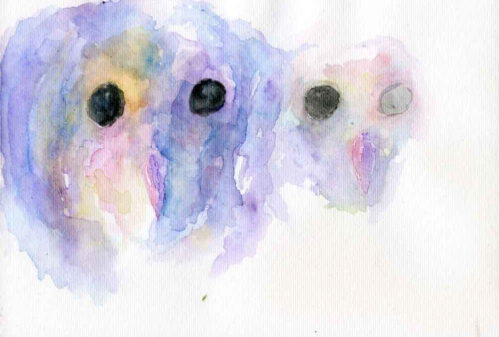 Two owls (#299)