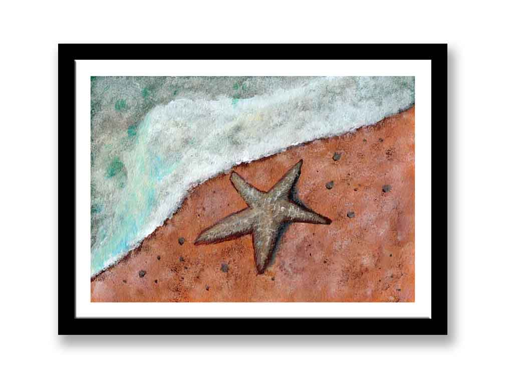 Starfish on beach (#1551)