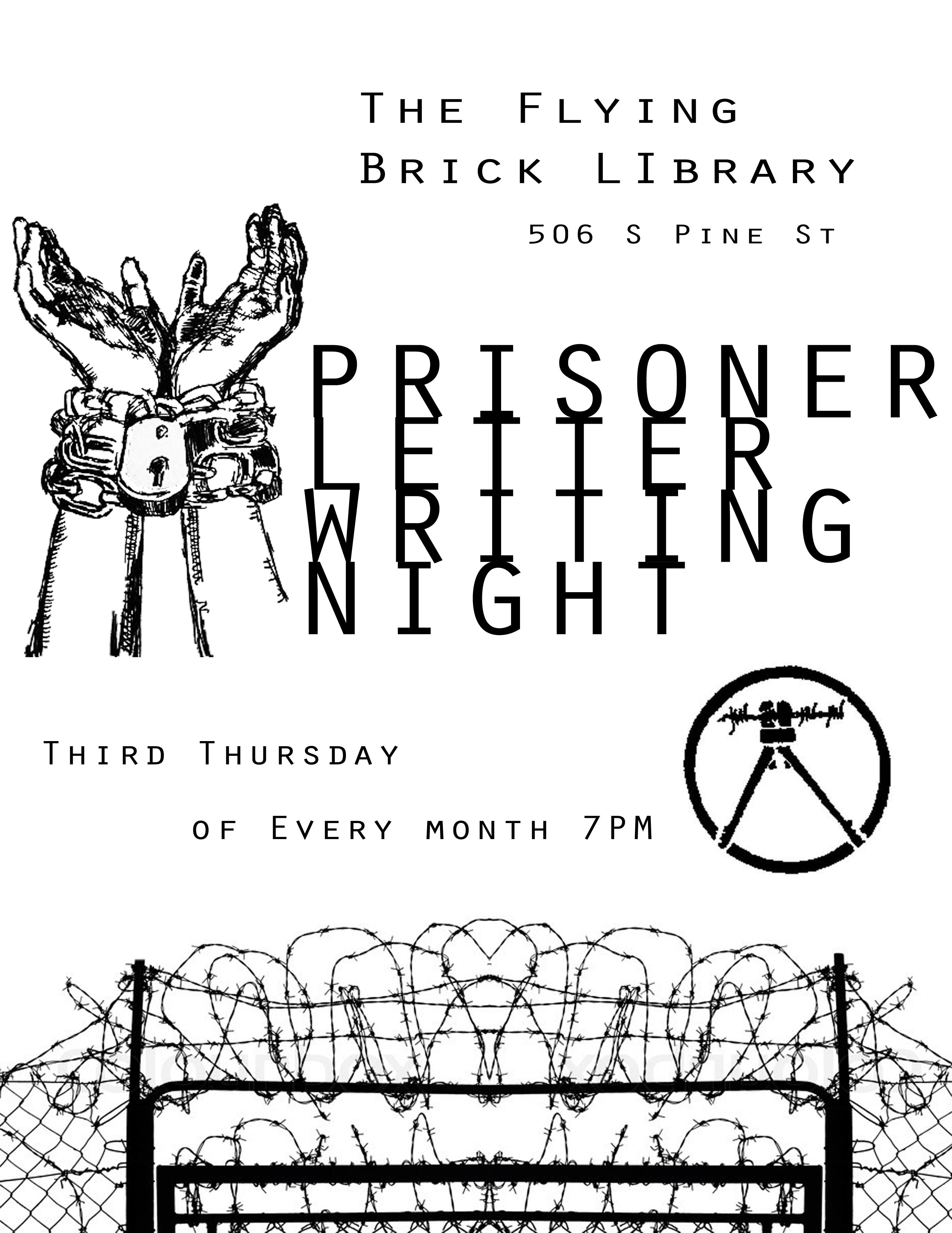 Prisonerletterwritingnight