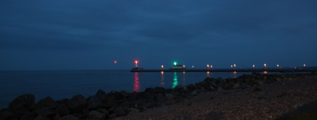 Duluth Harbor Lighthouse Moonrise