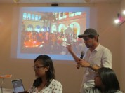 9 Jan - Vertical Submarine speaks, French Institute, Yangon, Myanmar