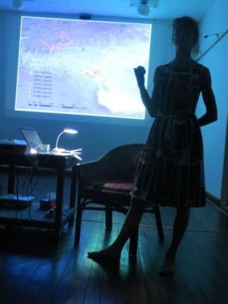 10 Jan - Kaffe Matthews speaks, French Institute, Yangon, Myanmar
