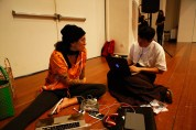 19 Jan, Performance Artist Julie and Archivist Yi-Sheng, FCP SUPERINTENSE Day 4, 72-13, Singapore