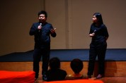 20 Jan, Wathann Film Festival Thaiddhi & Thu Thu Shein introduces the series of films to be screened , FCP Day 5, 72-13, Singapore
