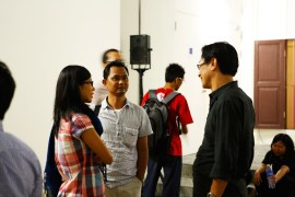 20 Jan, Visual Artist Couple Tun Win Aung & Wah Nu , FCP Day 5, 72-13, Singapore