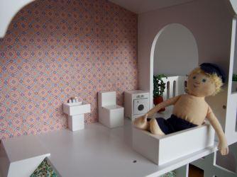 Puppenhaus Bad