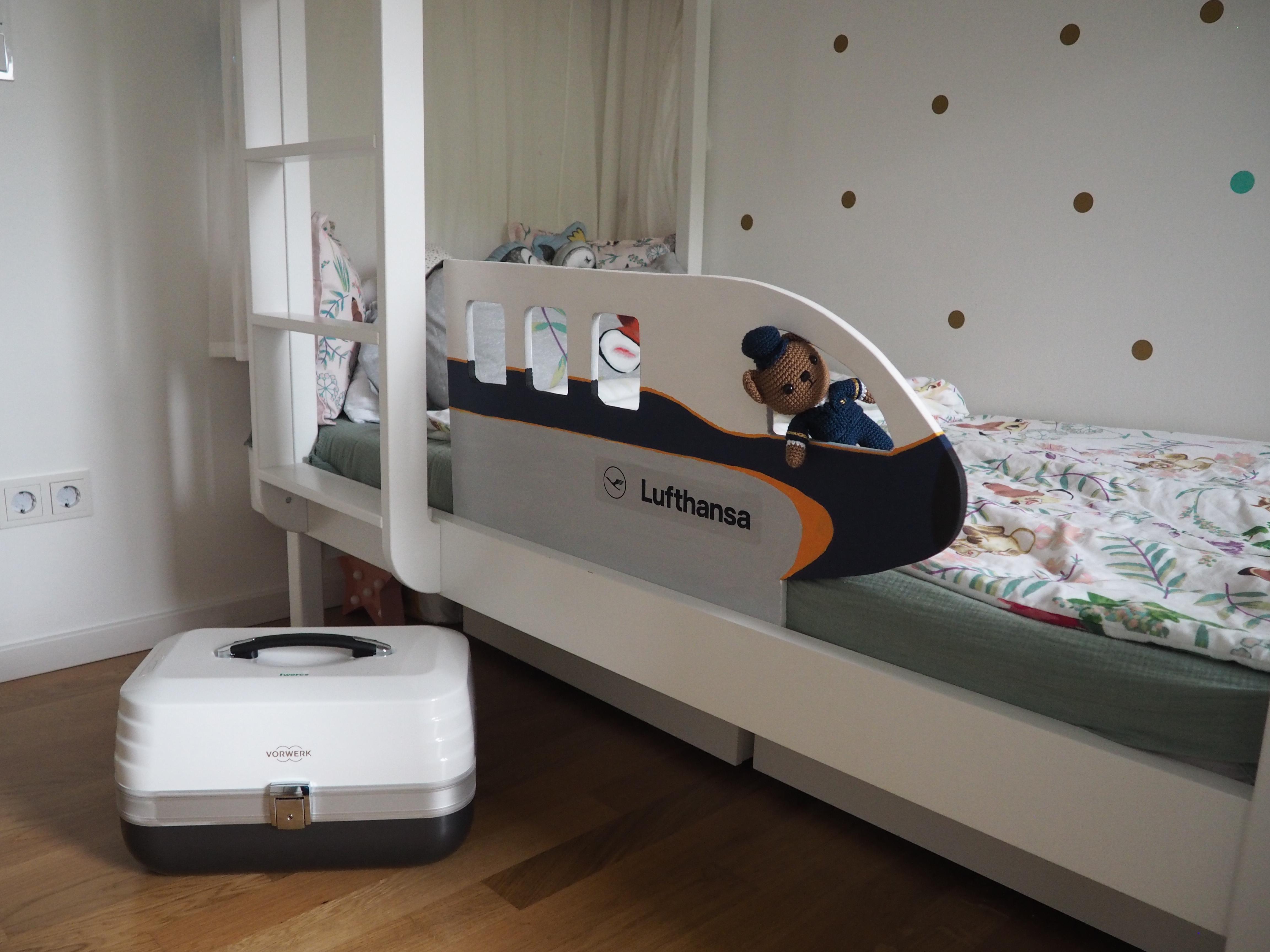 Bekannt Flying Daddy GeorgeRausfallschutz fürs Kinderbett – DIY Anleitung FL49