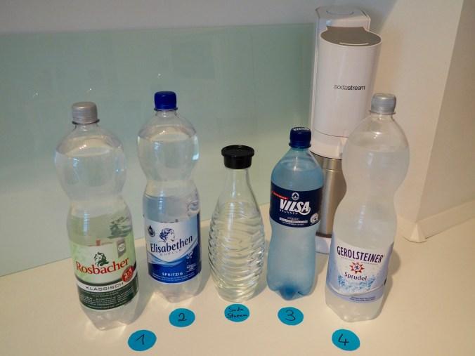 Mineralwasser im Geschmackstest