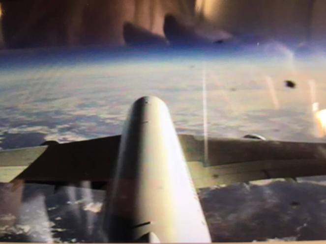 Emirates Airbus A380 tail camera