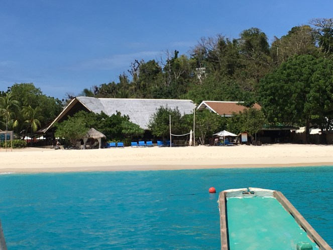 Club Paradise Palawan - From the sea