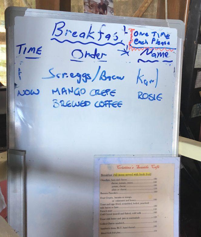 The breakfast board