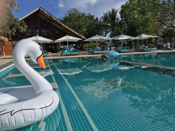 Club Paradise Palawan - Pool inflatables
