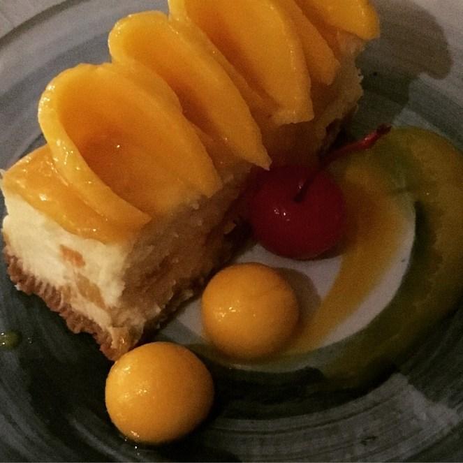 Club Paradise Palawan - Mango Cheesecake