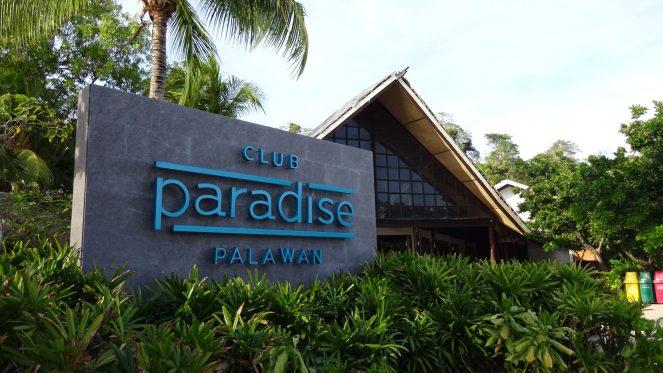 Club Paradise Palawan - Sign