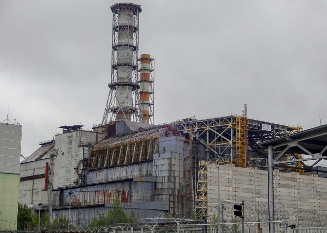 Chernobyl Nuclear Power Plant Reactor No. 4