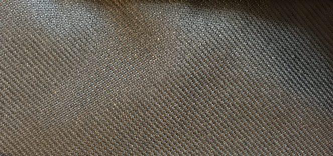 black fabric on the Kathmandu Litehaul 38L V3