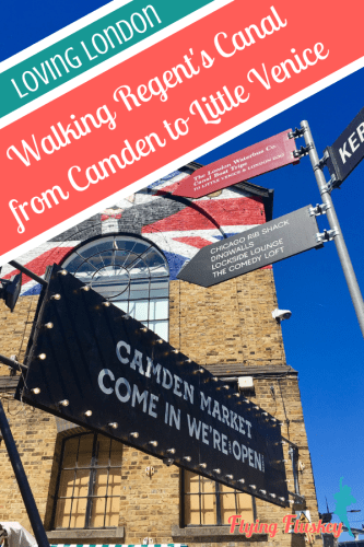 Thinking about taking a walk along Regents Canal from Camden to Little Venice Read our guide to find out all about the route. What to see, where to eat and more. #regentscanal #london #londonideas #londonwalks #canalwalk