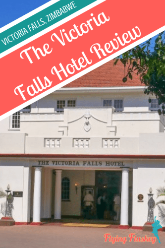 Victoria Falls is a very special sight and the Victoria Falls Hotel is a special place to stay. Read on to see our full Victorial Falls Hotel review. #victoriafallshotel #zimbabwe #victoriafalls #zimbabwetravel