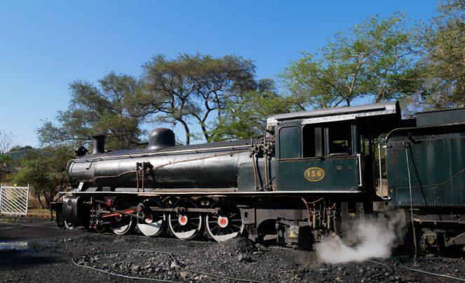 Royal Livingstone Express steam engine 156