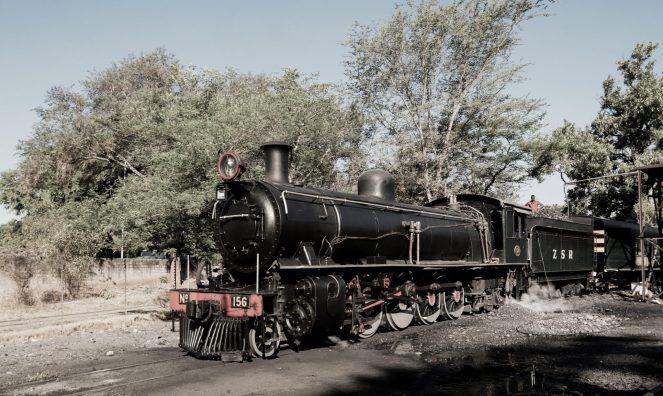 Royal Livingstone Express steam engine