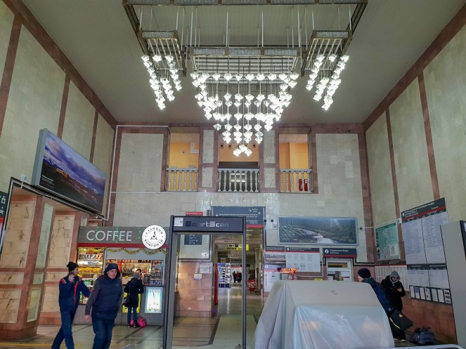 Inside Irkutsk Railway Station, Russia