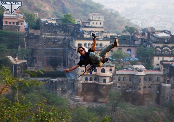 Flying Fox, Flying Fox Neemrana, Neemrana Fort Palace. Rajasthan, ziplining, ziplines, flying fox, quick getaway from delhi ncr
