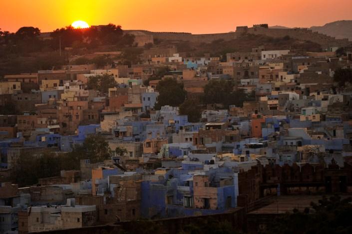 Jodhpur, Rajasthan, India, Blue City, Flying Fox Jodhpur
