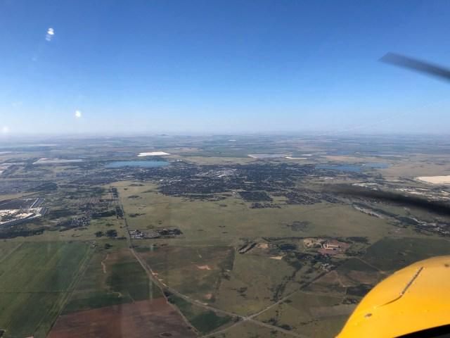 Aerial view - north west Free Satte