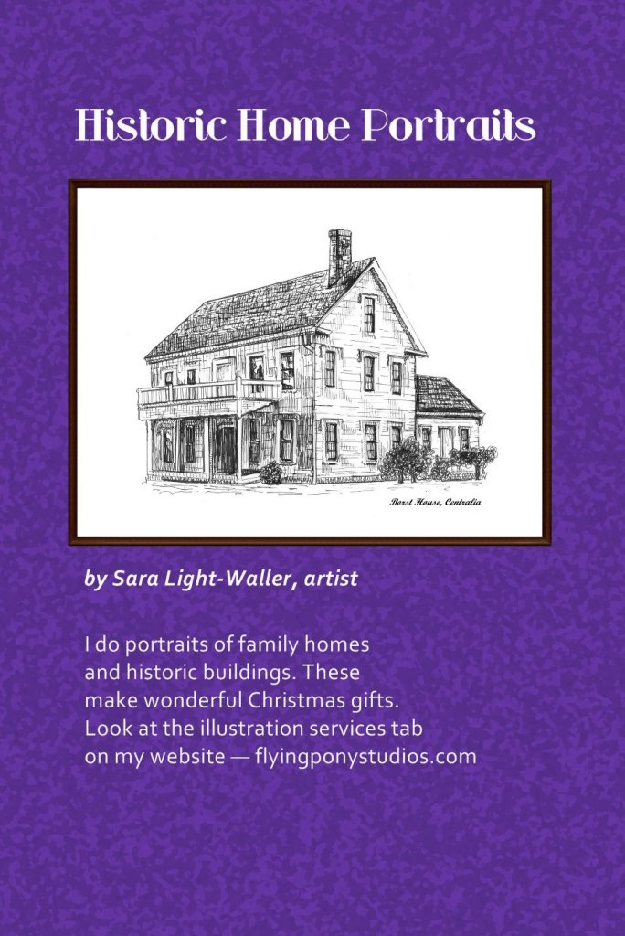 Historic Homes ad with text