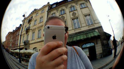 Zosia in Warsaw