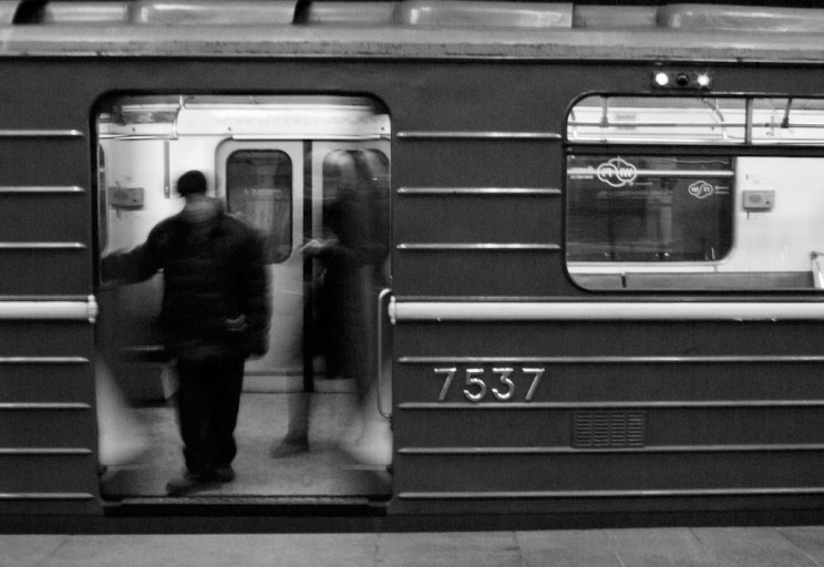 The metro in Moscow, Russia is a fascinating place - especially its last stations. I photographed some of them. click trough to see more!