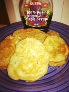 Choko pikekets (apple pie style!)