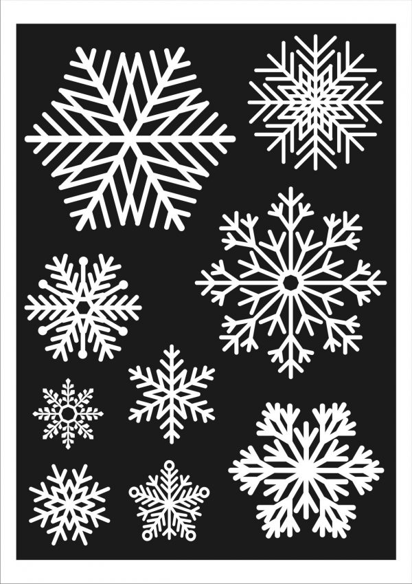Christmas Snowflakes.27 Large Snowflake Window Decoration Clings Christmas Stickers Flying Start Store