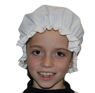Girls Victorian Mop Hat
