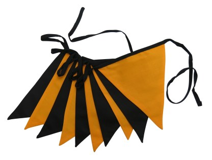3m Halloween bunting – double sided fabric bunting