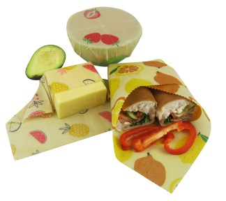 Beeswax Wrap Pack of 3 – Small Medium Large
