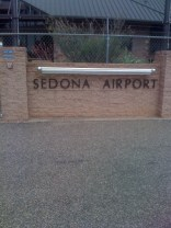 It's a small airport