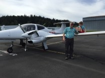 Future Pilot on Plane
