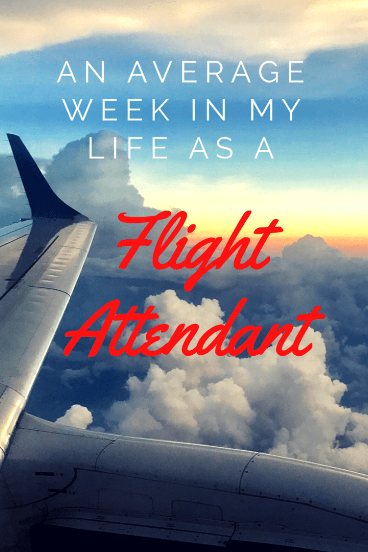 An Average Week in My Life as a Flight Attendant