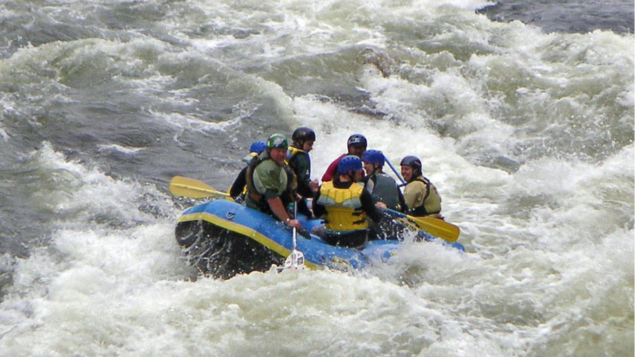 Image result for River rafting in manali